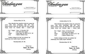 Undangan Khajatan
